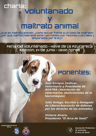 CARTEL MALTRATO ANIMAL