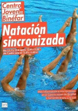 natacion sincronizada