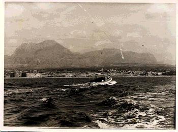 Benidorm desde la isla (1963)