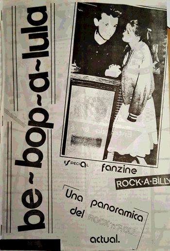 Be-bop-a-lula, fanzine editat a Madrid, 1984