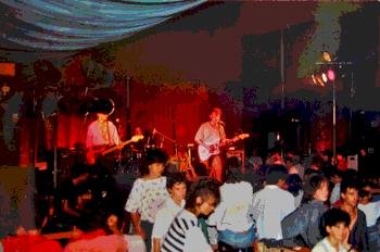 Más Birras al concert de Tamarit, 1987 / foto Enrique Marco