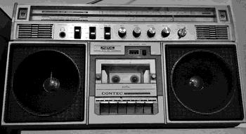 Radiocasset CONTEC