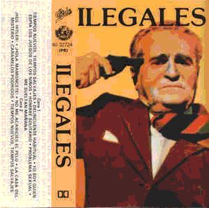 Caràtula del casset 'Ilegales' (1982)