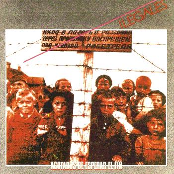 Portada del disc 'Agotados de esperar el fin' (1984)