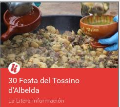 Albelda Festa del Tossino para enlace