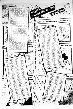 L'entrevista, publicada al 'Be-Bop-A-Lula' (1984)