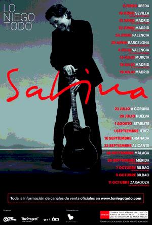 Cartell de la primera part de la gira 2017~2018