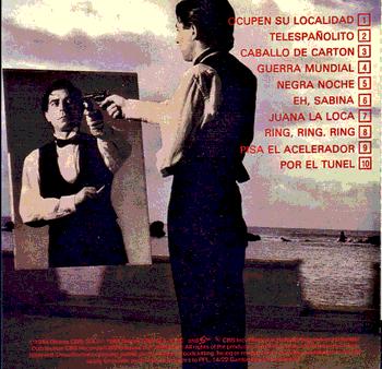 Contraportada de 'Ruleta rusa' (1983)