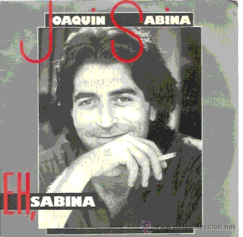 Portada del single 'Eh, Sabina' (1983)