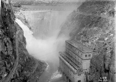 Any 1924 central hidroelèctrica de Camarasa ENDESA publicar