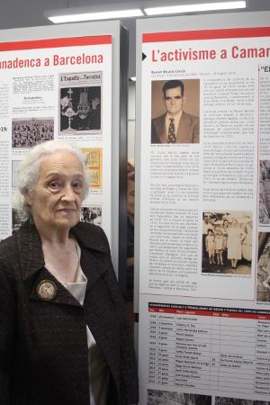 Aurora Martínez Brualla. Sobrina de Ramón Brualla Lleida
