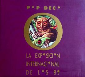 Portada del LP de Pop Decó (1986)
